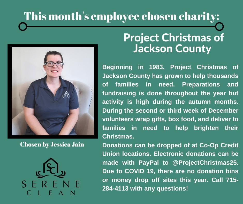 December 2020 Charity Post