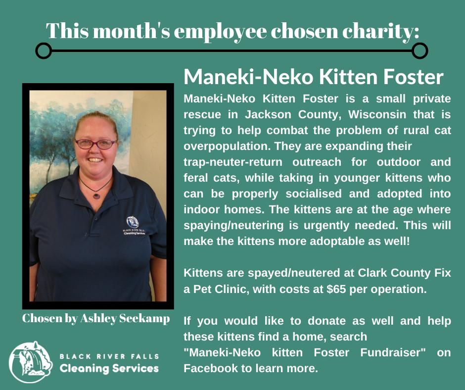 February Charity Post